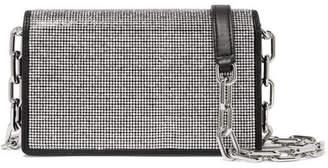 Alexander Wang Attica Crystal-embellished Leather Shoulder Bag