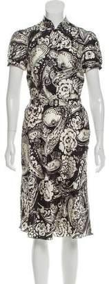 Ralph Lauren Silk Floral Dress