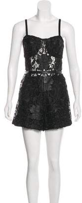Alexis Guipure Lace Romper w/ Tags