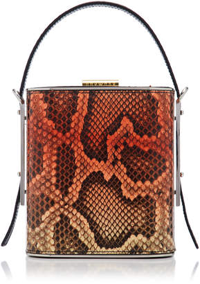 Hayward Field Python And Leather Bag