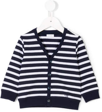 Il Gufo striped buttoned cardigan