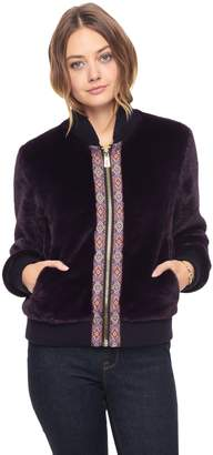 Juicy Couture Faux Teddy Fur Jacket