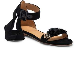 Bill Blass Cameron Wrap-Around Ankle Tie Sandal