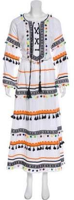 Dodo Bar Or Long Sleeve Maxi Dress