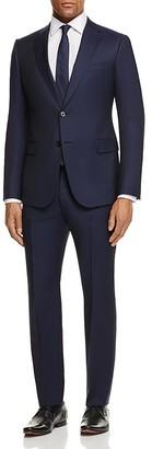 Armani Collezioni Stripe Regular Fit Suit $1,695 thestylecure.com