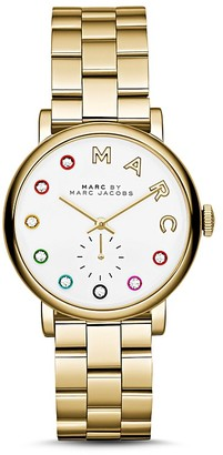 MARC BY MARC JACOBS Baker Dexter Watch, 28mm $250 thestylecure.com