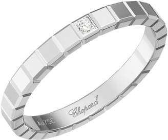 Chopard White Gold and Diamond Ice Cube Pure Ring