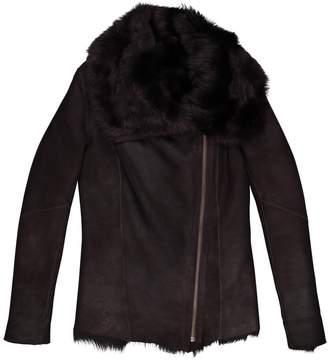 Harrods Brown Shearling Coats