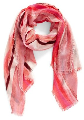 Women's Nordstrom Artist Ombre Cashmere & Silk Scarf $99 thestylecure.com