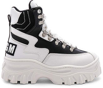 MSGM High Top Tractor Block Sneaker
