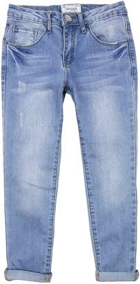 Mayoral Junior Girl's Relaxed Denim Pants, Sizes 8
