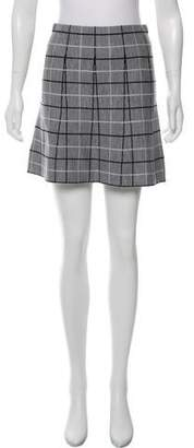 Minnie Rose Wool Blend Mini Skirt