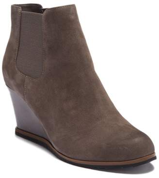 Susina Altair Leather Wedge Bootie