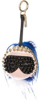 Fendi Fur-Trimmed Punkarlito Bag Charm