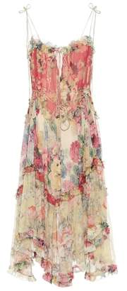 Zimmermann Melody floral-printed silk dress