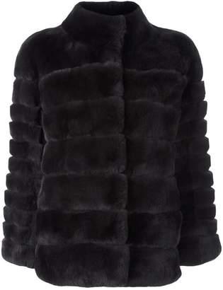 N.Peal 'Rex' ribbed jacket
