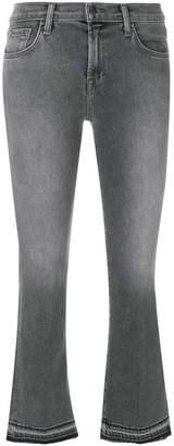 J Brand Selena Bootcut cropped jeans