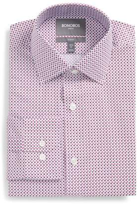 Bonobos Easton Slim Fit Geometric Print Dress Shirt
