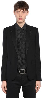 Saint Laurent Smoking Virgin Wool Jacket
