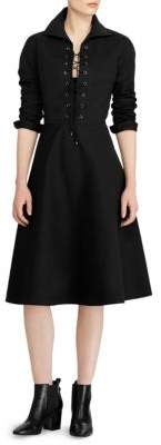 Polo Ralph Lauren Holly Lace-Up Dress