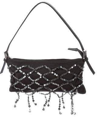 Renaud Pellegrino Star-Embellished Satin Bag