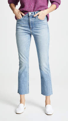 Rag & Bone Ankle Cigarette Jeans