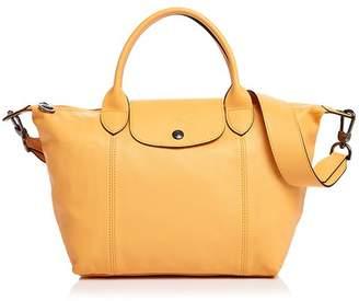 Longchamp Le Pliage Cuir Small Shoulder Bag