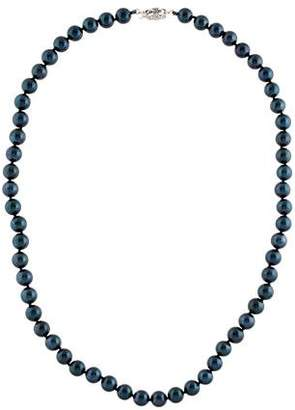 14K Black Cultured Pearl Necklace
