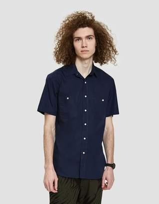 Gitman Brothers Marina Poplin Shirt in Navy