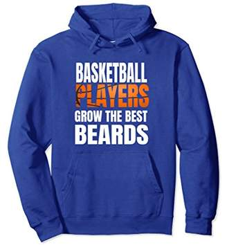 Basketball Player Beard Graphic Hoodie Gift Funny Bearded