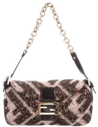 Fendi Mini Sequin Mama Forever Bag Black Mini Sequin Mama Forever Bag