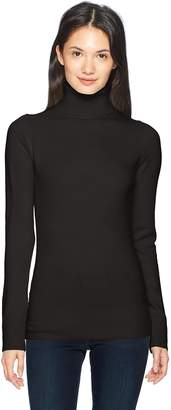 French Connection Women's Babysoft Long Sleeve Soft Solid Pullover Sweater, TN, M