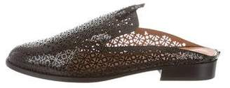 Robert Clergerie Asier Laser Cut Mules w/ Tags