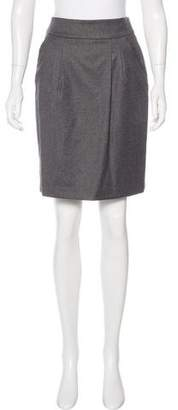 Bamford Wool Knee-Length Skirt