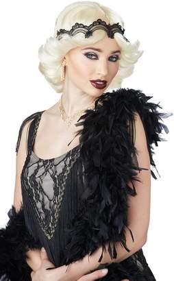 California Costumes Women's 20s Glitz and Glamour Wig and Headband