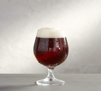 Pottery Barn Stout Beer Glass