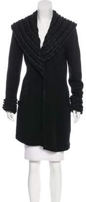 Temperley London Silk & Cashmere-Blend Cardigan