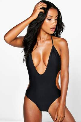 d85b384bc Deep Plunge Womens Swimsuit - ShopStyle