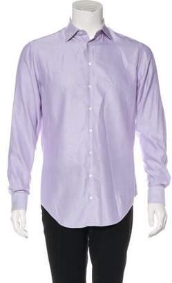 Giorgio Armani Patterned Button-Up Shirt