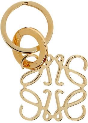 Loewe Gold Anagram Keyring