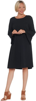 Laurie Felt Bell Sleeve Dress