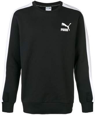 Puma logo crew sweatshirt