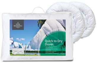 Fine Bedding Company 12 Tog 'Quick To Dry' Microfibre All Season Duvet