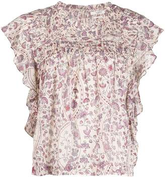 Etoile Isabel Marant Layona floral top