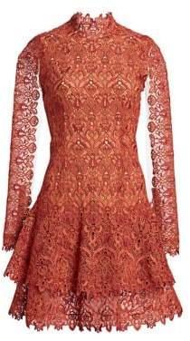 Jonathan Simkhai Guipure Lace Mini Dress