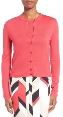 Women's Boss Fabia Wool Cardigan $245 thestylecure.com