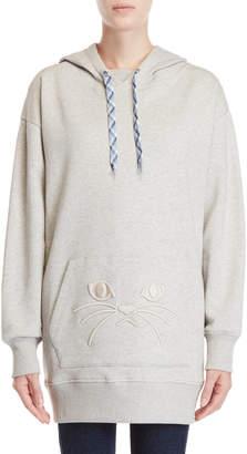 Paul & Joe Sister Grochat Longline Pullover Hoodie
