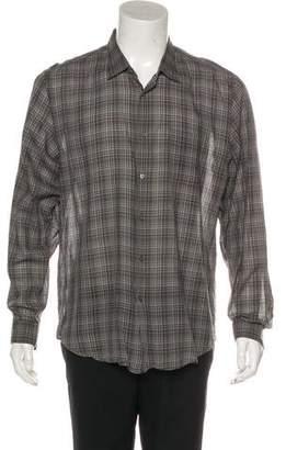 John Varvatos Patterned Casual Shirt
