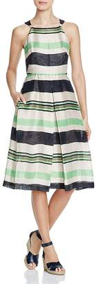Whistles Miriam Stripe Dress $340 thestylecure.com