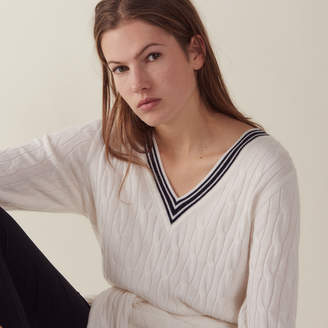 Sandro Cable knit sweater